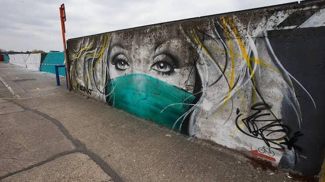Graffiti im belgischen Wetteren: Wer muss sich wie schützen, wenn der Shutdown vorbei ist?