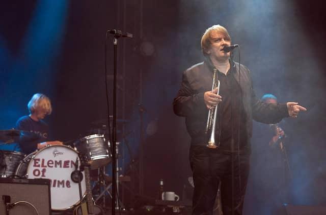 Sven Regener mit seiner Band Element of Crime in Hamburg