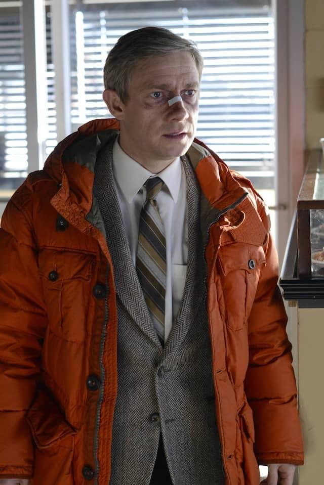 """Martin Freeman ist einer der Gründe dafür, warum """"Fargo"""" sich perfekt in das Coen-Universum einfügt ohne als Serie an Eigenständigkeit zu verlieren."""