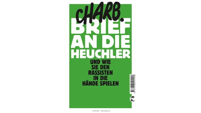 """Buchcover von """"Brief an die Heuchler"""""""
