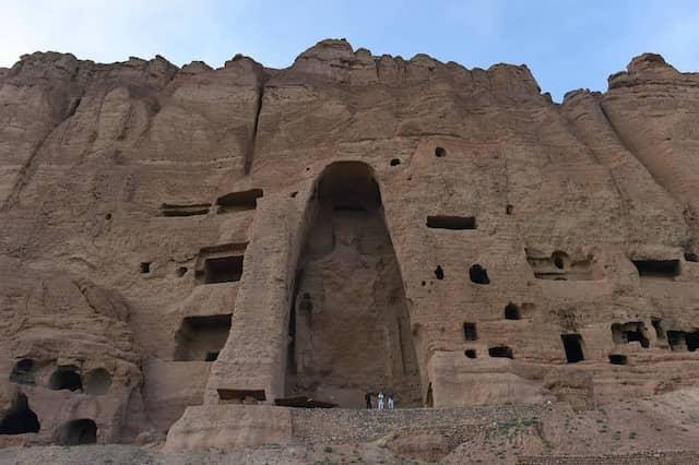 Die Buddha-Statuen von Bamiyan haben die Taliban 2001 gesprengt. Sie brauchten dafür vier Tage.