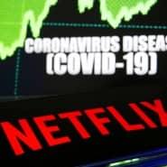 Der Streamingdienst Netflix verzeichnet höhere Nachfrage