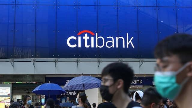 Bald Finanzdiener für Google: Eine Filiale der Citigroup-Tochtergesellschaft Citibank in Hongkong.