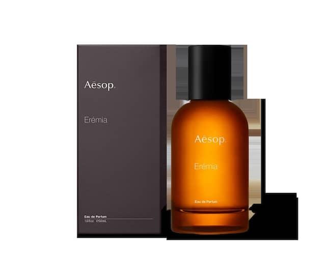 Mit Yuzu, Iris und Galbanum: Erémia von Aesop, 50 ml um 160 Euro.