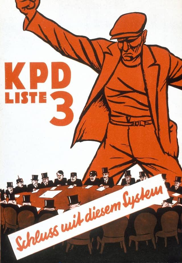Auch kein Freund der Republik: Wahlwerbung der KPD 1932