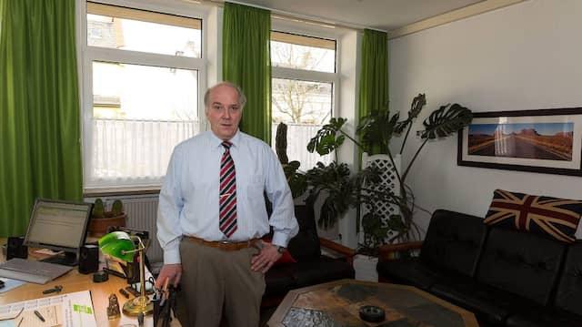 Er regelt die Abwicklung seiner Behörde: Ulrich Metzen, der Vertreter des Vertreters des Präsidenten. Seine Chefs sind schon abgewickelt.