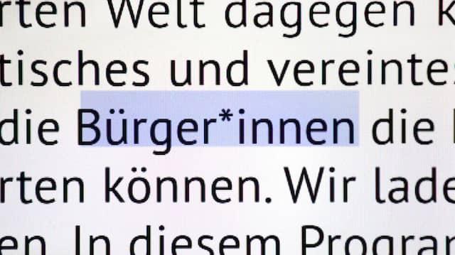 Innen-Ansicht: An der Uni Kassel können Dozenten theoretisch verlangen, dass ihre Studenten so schreiben wie die Grünen in ihrem Europawahlprogramm.