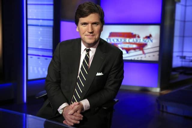 Stellt Impfungen infrage: Fox-News-Moderator Tucker Carlson im März 2017 in New York