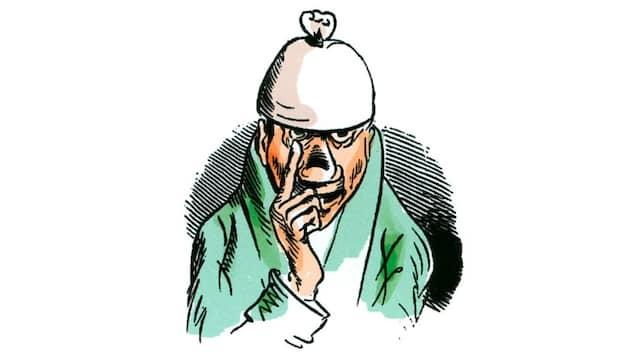 Früher Verschwörungstheoretiker:Noch nicht mit Aluhut, aber schon mit Zipfelmütze