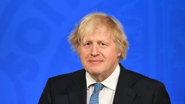 Will am 12. April in den Pub gehen: der britische Premierminister Boris Johnson am Montag in London bei der Ankündigung von Corona-Lockerungen