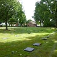 Das Foto zeigt die deutsche Kriegsgräberstätte in Menen/Belgien.
