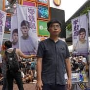 Joshua Wong, einer der führenden Köpfe der Hongkonger Demokratiebewegung, am 20. Juni 2020.