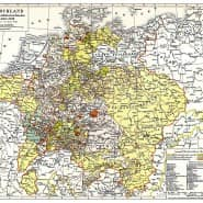 Deutschland und Europa nach dem Westfälischen Frieden von 1648.