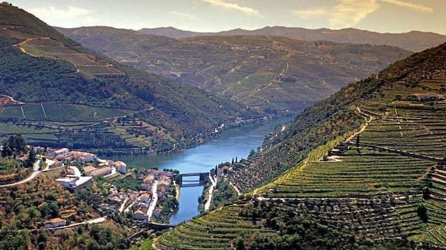 Die Heimat des Porto: Nur am Douro, dem ältesten klassifizierten Weinbaugebiet der Welt, darf er kultiviert und gekeltert werden.