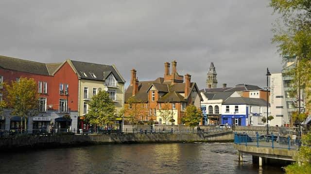 Klein und beschaulich: Sligo, Hauptstadt der gleichnamigen Grafschaft.