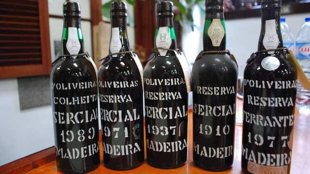 Objekt der Begierde: Der hocharomatische Madeira-Wein kommt unter Kennern nie aus der Mode.