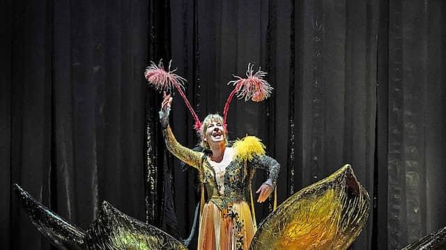 Wir werden mutig gewesen sein: Jessica Higgins (vorne), Karin Klein am Staatstheater Darmstadt