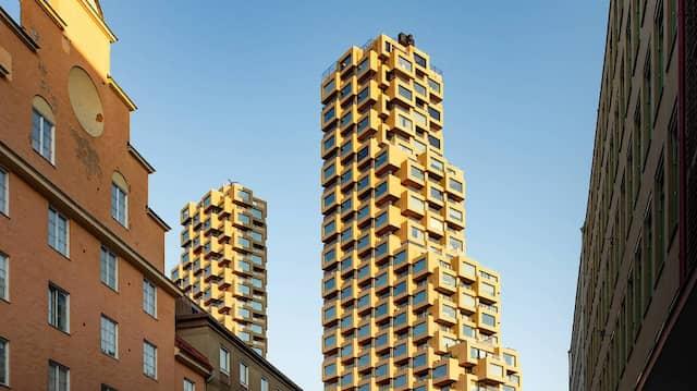 Schwedischer Sieger: Norra Tornen in Stockholm gewinnt den Hochhauspreis.