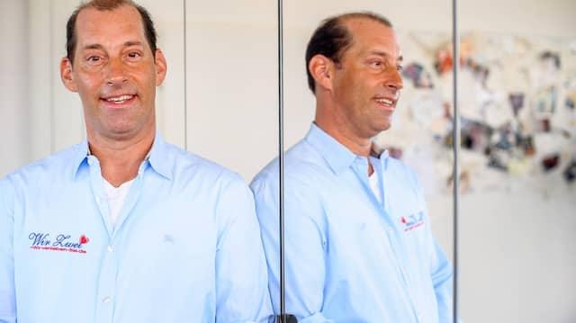 """Christoph Brühmann, Leiter der Partneragentur """"Wir Zwei"""" in Dreieich"""