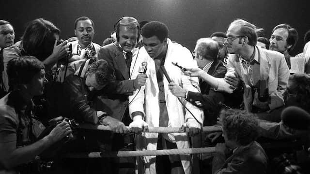 Das waren Zeiten: Als man den Stars wie Muhammad Ali noch auf die Pelle rücken konnte