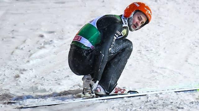 Harte Landung: Markus Eisenbichler ist auf der Suche nach der Form des vergangenen Winters.
