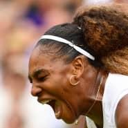 Aus Frust wurde Freude: Beim Turnier in Wimbledon läuft es bislang sehr gut für Serena Williams.