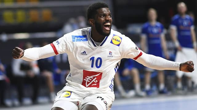 Großen Schritt Richtung Viertelfinale: Jubel bei den Franzosen nach dem Sieg gegen Island.