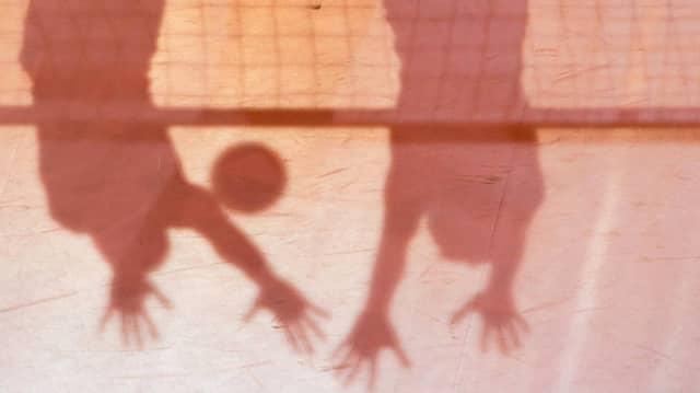 Volleyball in Iran bleibt eine Sache für Männer.