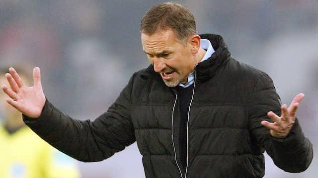 Angezählt: Kölns Trainer Achim Beierlorzer