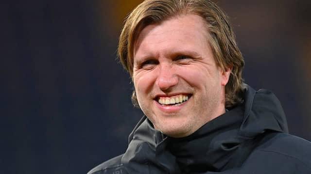 Strahlend in die Zukunft: Markus Krösche hat in Paderborn und in Leipzig reichlich Erfolge genossen.