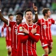 Lewandowski muss bei aller Rotation halt auf dem Feld stehen: Der Torjäger sichert Bayern den Sieg