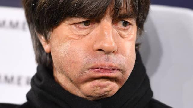 """""""Die letzten zehn Minuten waren etwas wacklig"""": Bundestrainer Joachim Löw."""
