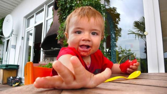Handarbeit: Kein Kleinkind greift freiwillig zu Messer und Gabel.
