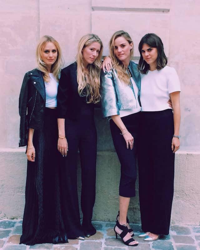 Die Galvan-Frauen: Katherine Holmgren, Anna-Christin Haas, Sola Harrison, Carolyn Hodler