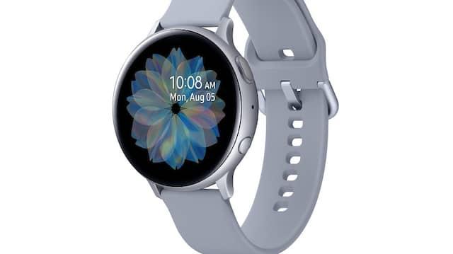 Die Galaxy Watch Active 2 in einer Gehäusehöhe von 44 Millimeter