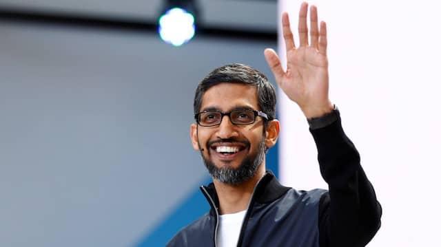 Google-Chef Sundar Pichai während der Entwicklerkonferenz I/O in San Francisco im Mai.