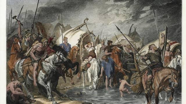Goten Roemisches Reich