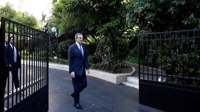 Griechenlands neuer Ministerpräsident Antonis Samaras