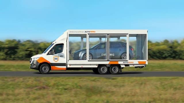 So sollen die Fahrzeuge an die Kunden von Auto1 geliefert werden.