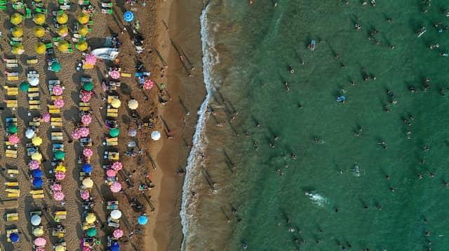 In Alanya scheint die Sonne: Vom Krieg in Syrien bleibt die Türkische Riviera bislang unberührt.