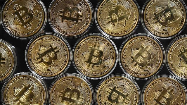 Der Bitcoin-Kurs steigt und steigt.