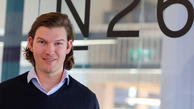 Valentin Stalf gründete die Onlinebank N26 und ist heute ihr CEO.