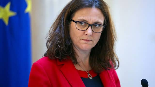 Kommissarin Cecilia Malmström