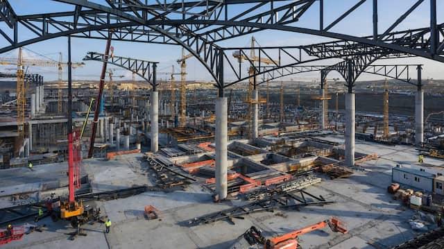 Die türkische Bauwirtschaft boomt