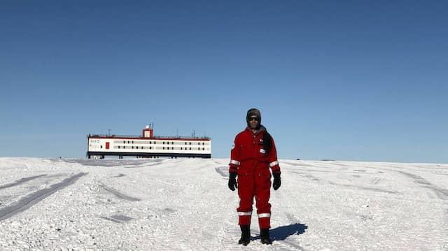 Untersuchte die Gehirne von Geowissenschaftlern am Südpol: Alexander Stahn von der Charité in Berlin.