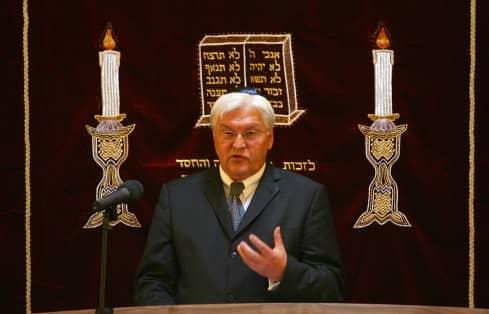 """Steinmeier: """"Engagierte Zivilgesellschaft"""" gegen Rechtextreme und Antisemiten"""