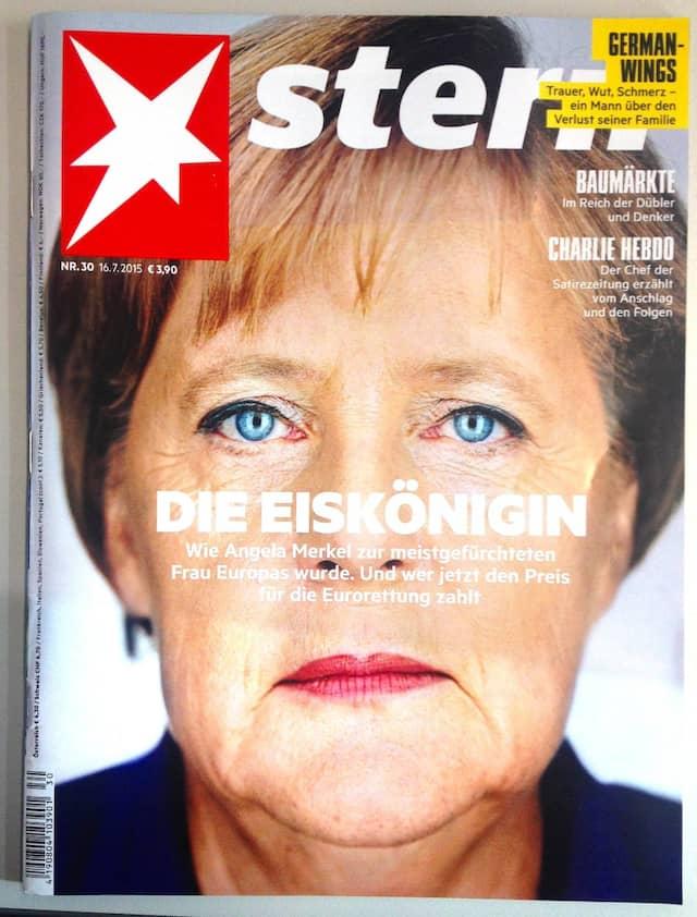 """Die """"Eiskönigin"""" Merkel im """"Stern"""""""