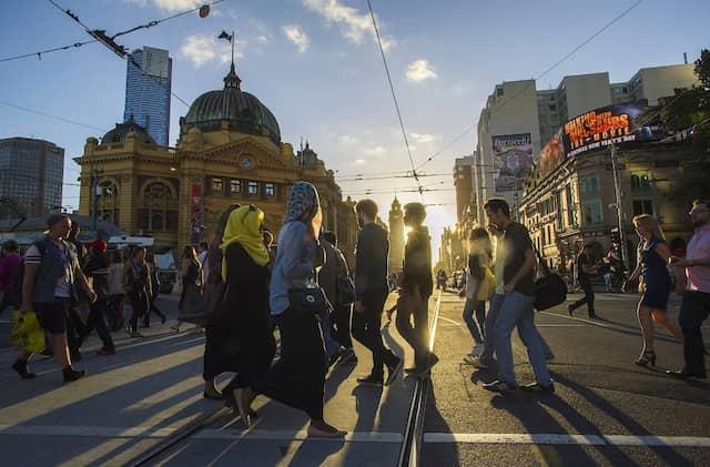 Nirgends geht die Sonne lebenswerter unter als in Melbourne.