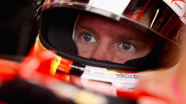 An die Zeit von Hamilton kam Sebastian Vettel nicht heran.